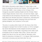 Text panel: The Base 211 Myth
