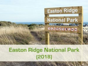 To project Easton Ridge National Park