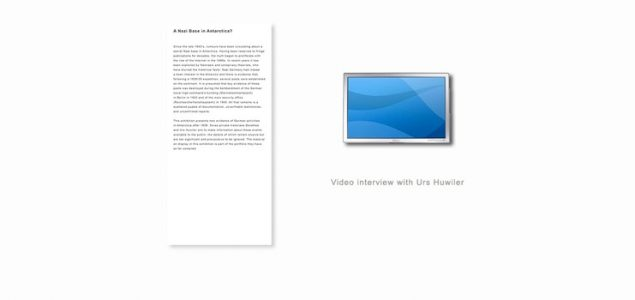 Überblick: Textpanel 1 und zugehörige Ausstellungsstücke