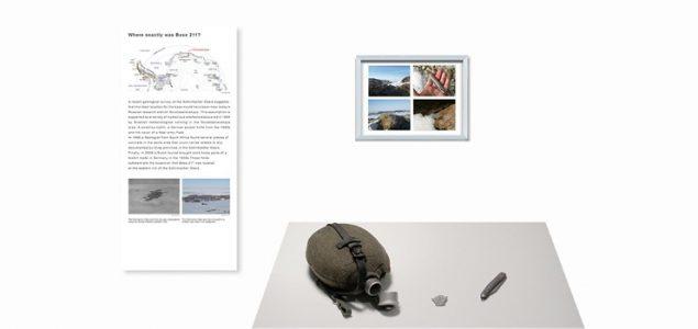 Überblick: Textpanel 8 und zugehörige Ausstellungsstücke
